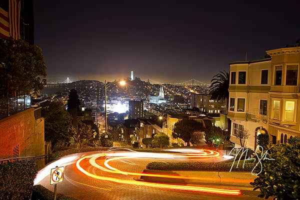 The Lights of Lombard Street