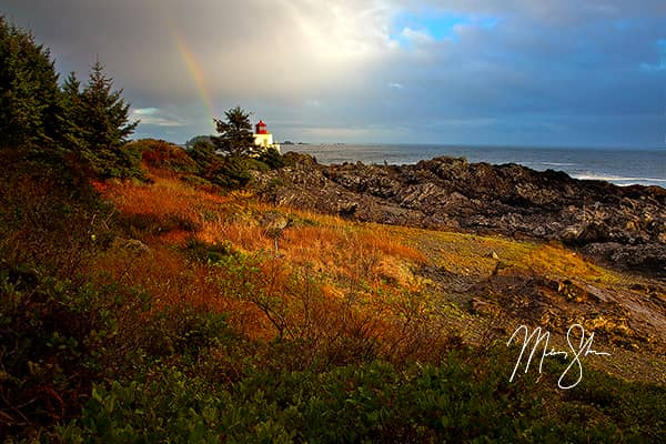 Ucluelet Lighthouse Rainbow