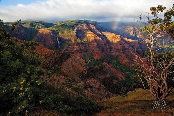Waipoo Falls of Waimea Canyon