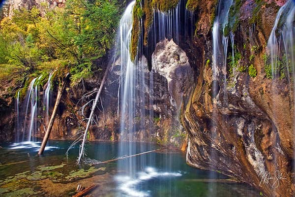 Waterfalls of Hanging Lake