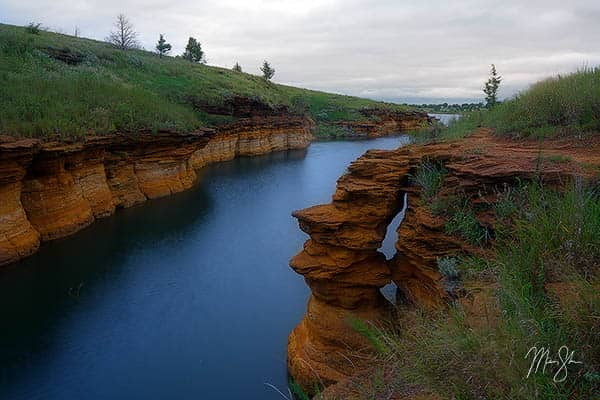 Wilson Lake Cliffs