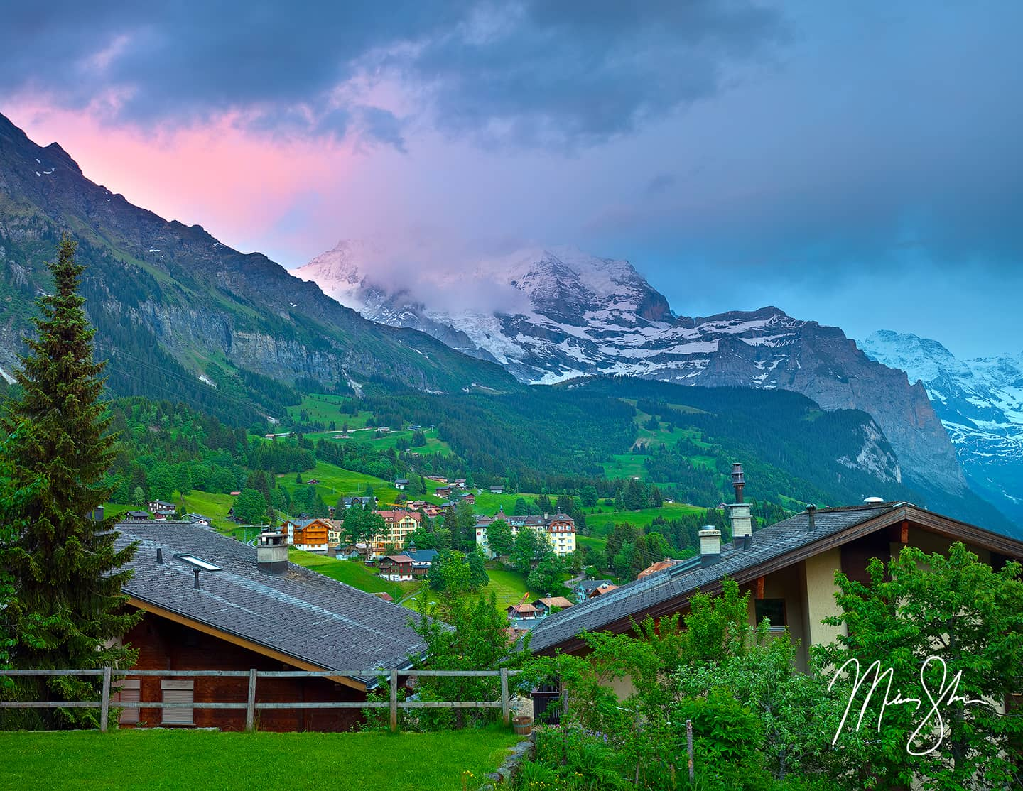 Vibrance Over Wengen - Wengen, Bernese Alps, Switzerland