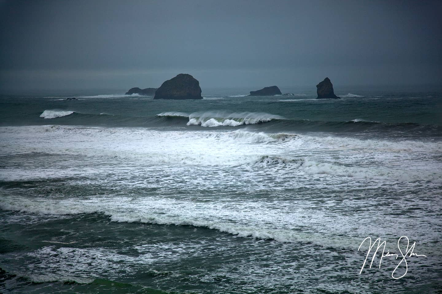 Violence of the Ocean - South Oregon Coast